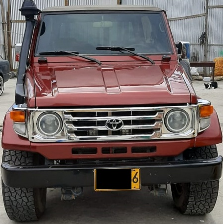 1996 Toyota Land Cruiser  $45,000,000