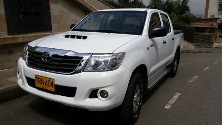 2015 Toyota Hilux Intercoler turbo $87,500,000
