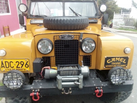 1961 Land Rover Serie 3 Ingles 4x4 $25,000,000